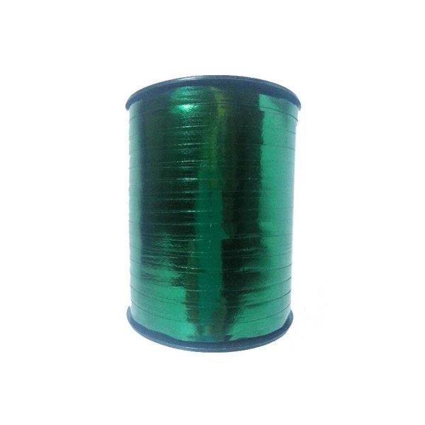 Krullint, donker groen metallic , 5mm