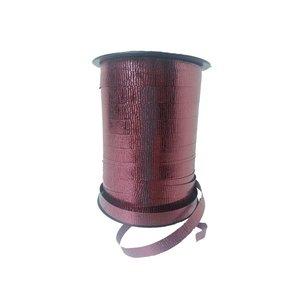 Curl ribbon, Metallic Wave, Bordeaux