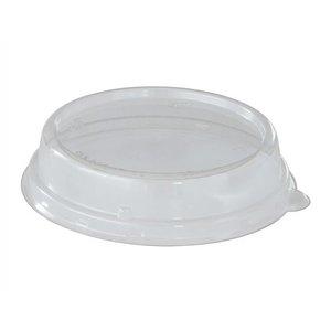 Deksel rPET Transparant t.b.v. Bagasse Bowl 600 ml169211