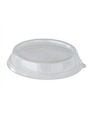 Deksel rPET Transparant t.b.v. Bagasse Bowl 900 ml& 1200 ml