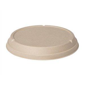 Lid, brown for Bagasse Bowl 177000 & 177002 & 169212 & 169213