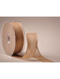 Burlap (burlap) ribbon