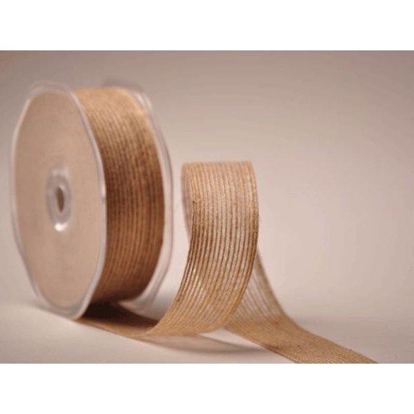 A very natural ribbon, our Burlap ribbon
