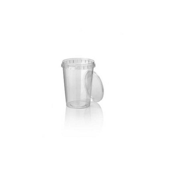 PP cup, Ø 95, met garantiesluiting, 520 ml