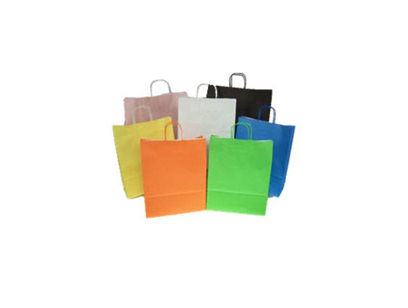 Papieren draagtassen