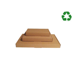 Brown kraft letterbox box, 50 pcs