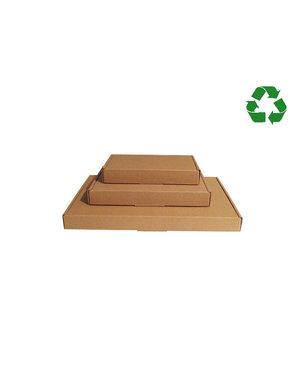 Brown kraft letterbox box, 50 pcs