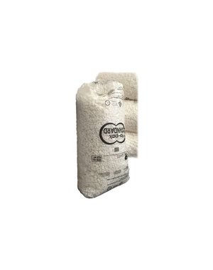 Schuimkorrels, wit, 8 vorm, 250 liter