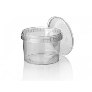 PP cup, Ø 95, with guarantee closure, 365 ml