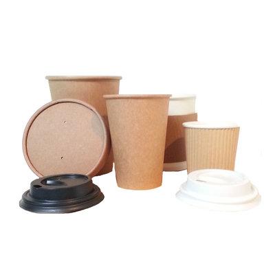 Deksel voor koffie beker, 4oz / 100ml