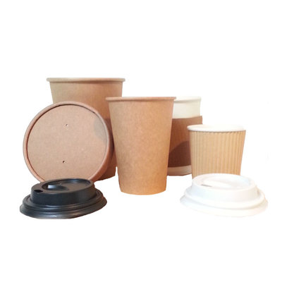 Deksel voor koffie beker, 12oz / 300ml