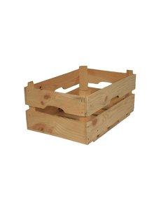 Houten kistje, 39x26x17 cm