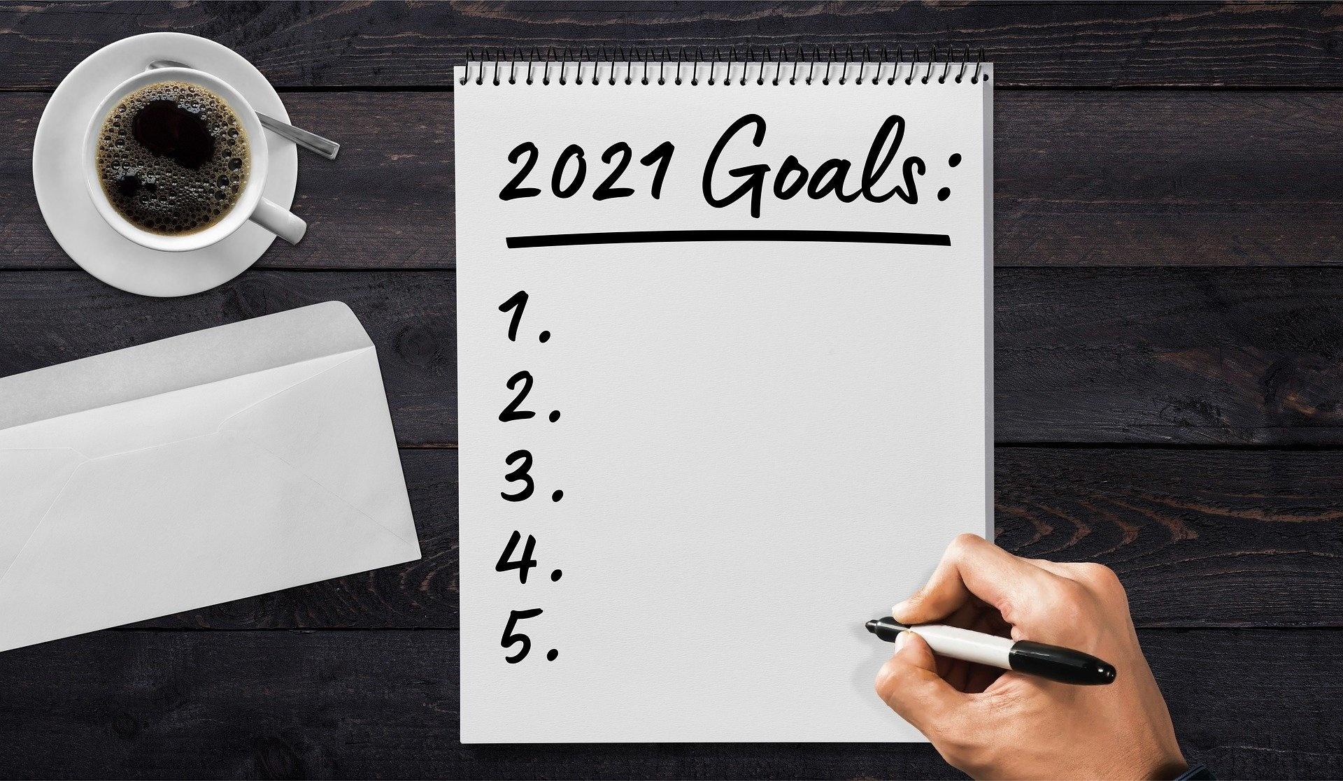 Goede voornemens voor 2021