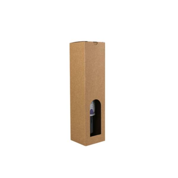 """Bottle box, brown kraft, 1 bottle """"Basic Line"""""""