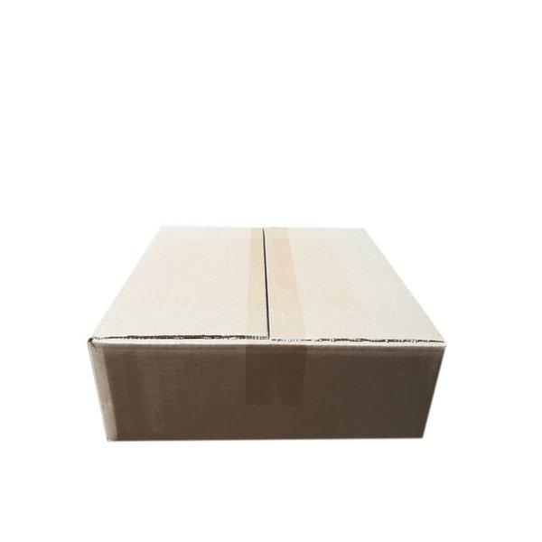 A-box,  27x27x9,3 cm, brown, 25 pieces