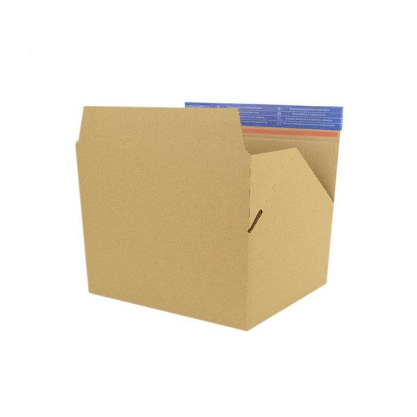 Autolock box S, brown, 213x153x109mm
