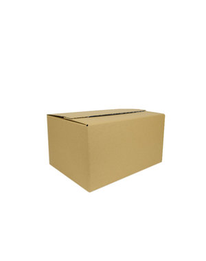 Autolock box L, brown, 310x230x160 mm, 10 pieces