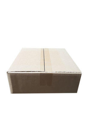 A-box,  22x22x9,5 cm, brown, 25 pieces
