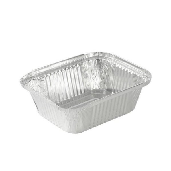 Aluminum container, 450 ml