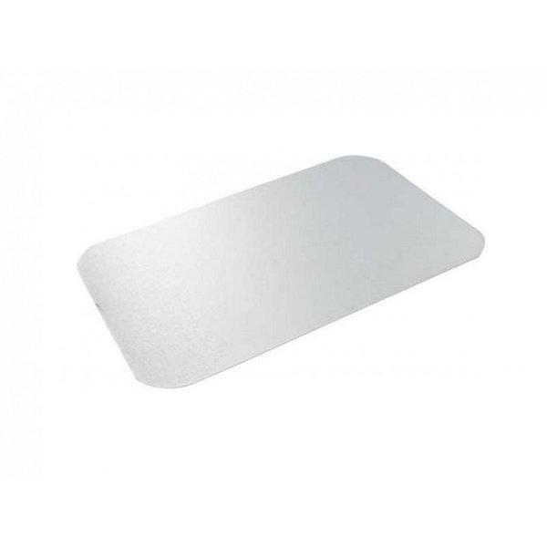 Deksel A-pet voor aluminium bak, 911 ml