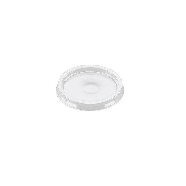 Deksel R-pet voor aluminium bak, 106 ml