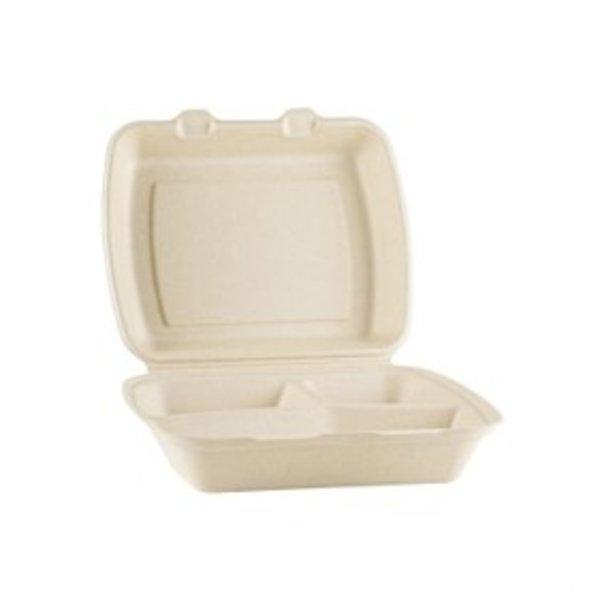 Suikerriet menubox 3-vaks