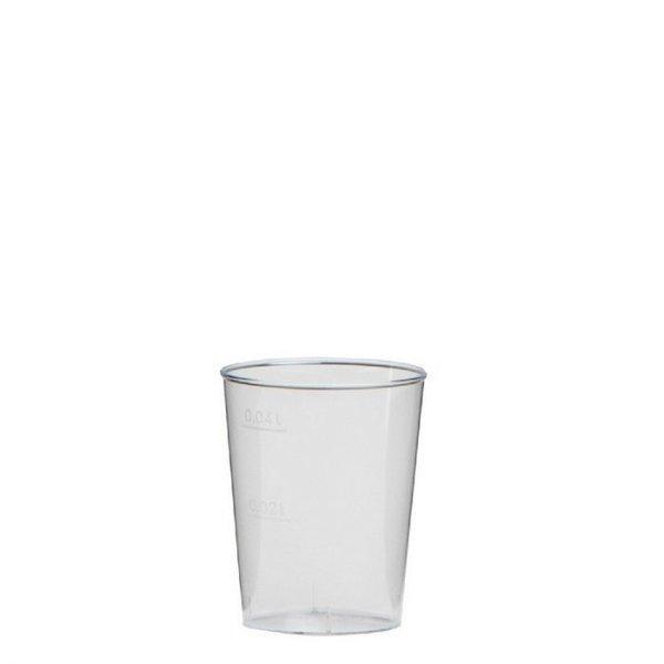 Plastic Shot glaasje, 40cc
