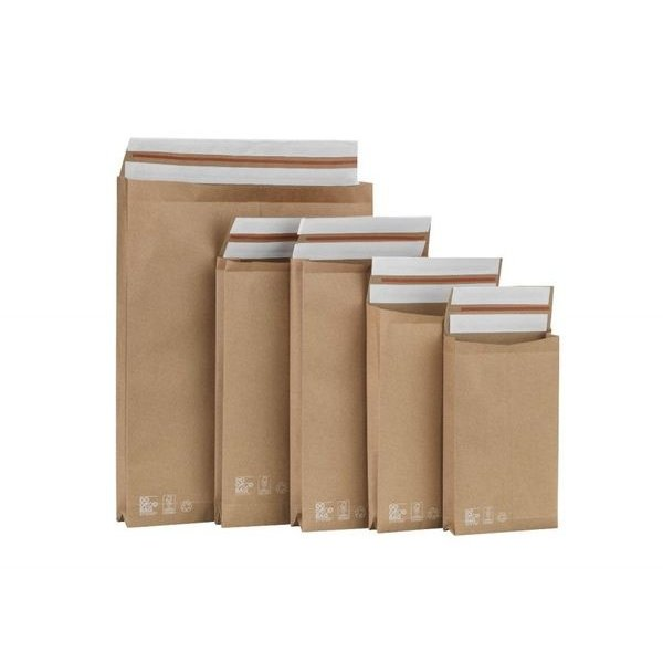 Paper shipping bags S+, 250x430x80mm