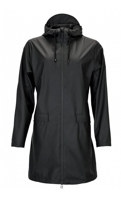 Rains W Coat Jacket Black