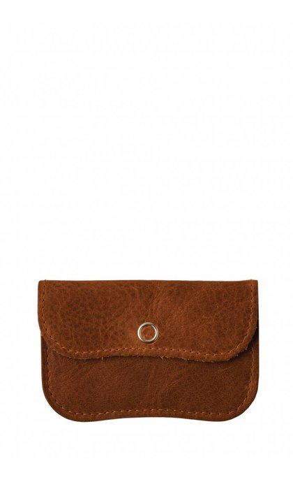 Keecie Mini Me Wallet Cognac Used Look