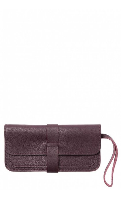 Keecie Top Secret Clutch Eggplant