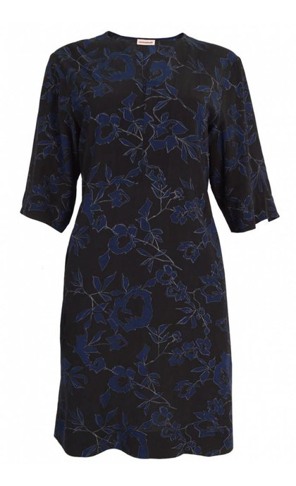 Custommade Custommade Othelia Dress Anthracite Black