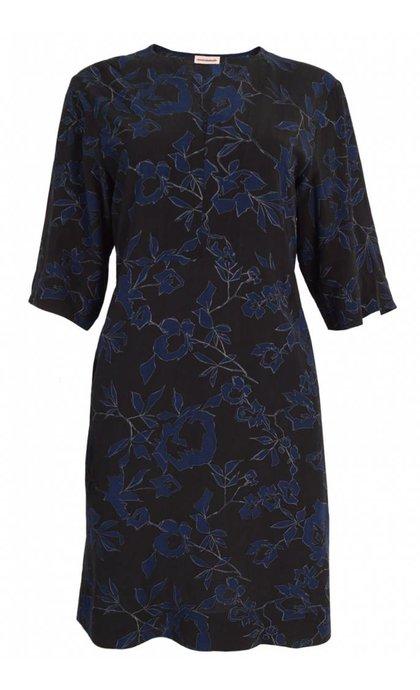 Custommade Othelia Dress Anthracite Black