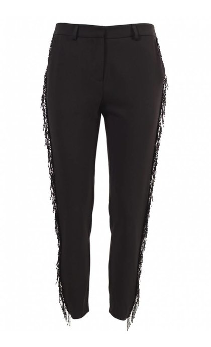 Custommade Muno W.Sequins Pant Anthracite Black