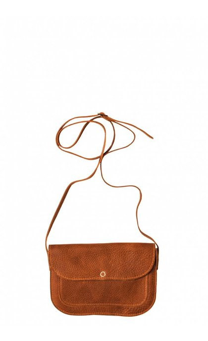 Keecie Cat Chase Wallet Bag Cognac Used Look