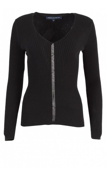French Connection Lois Mozart Jumper Black