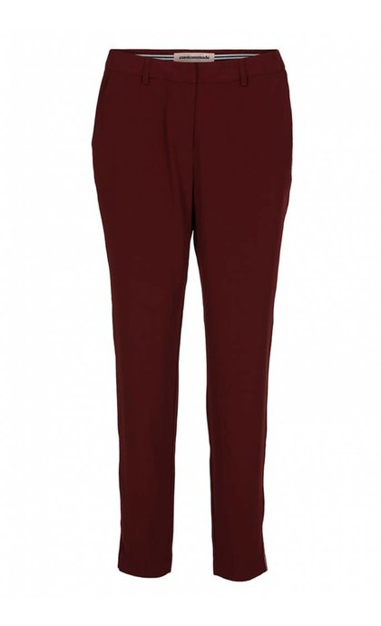 Custommade Muno Mini Stripe Pant Cabernet