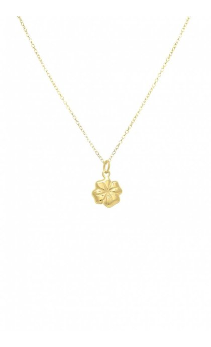 Wildthings Collectables Clover Necklace Goldplated
