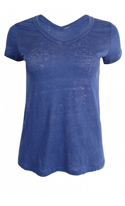 MKT Studio Talip Tee Midnight Blue