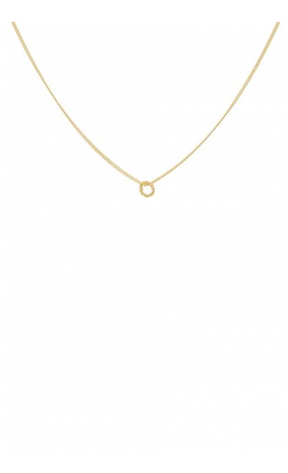 Anna + Nina Rope Necklace Goldplated