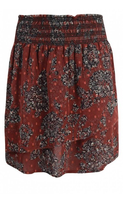 MKT Studio Jugli Skirt Burgundy