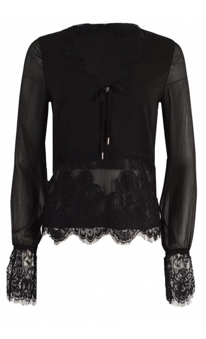 Tigha Britta Blouse Black