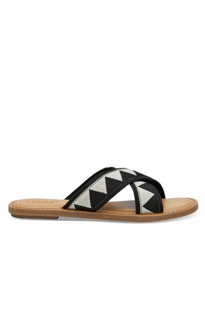 Toms Viv Black Tribal Sand