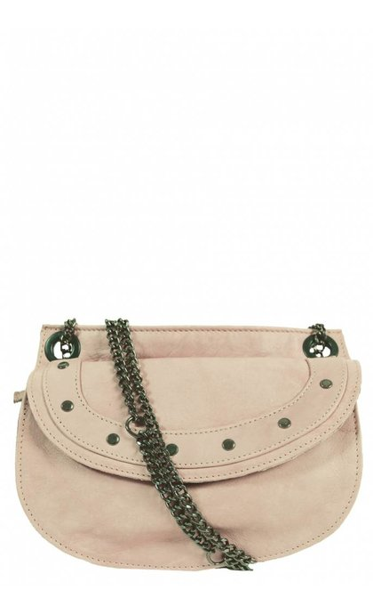 Elvy Emilie Chain Bag Asiago