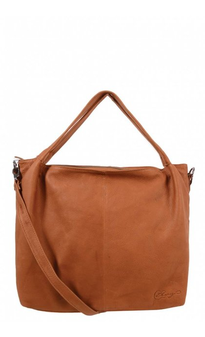 Elvy Sofie Small Shopper Cognac