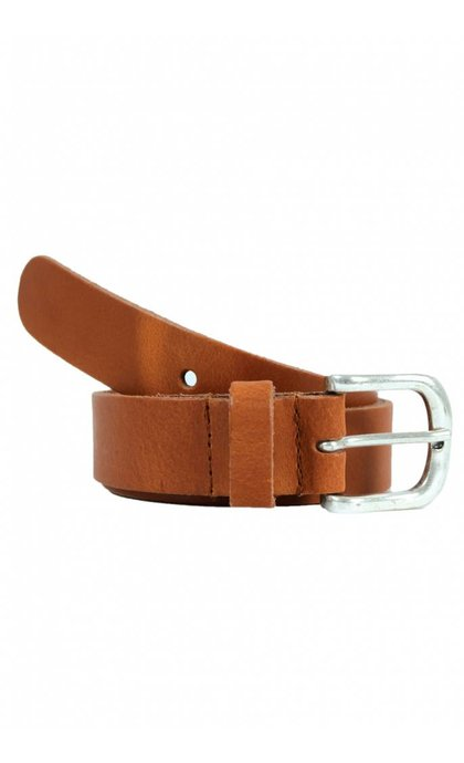 Elvy Belt Plain Cognac