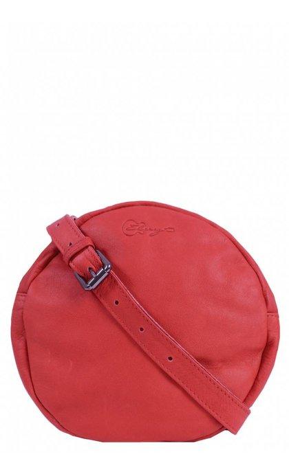 Elvy Lily Round Bag Corallo