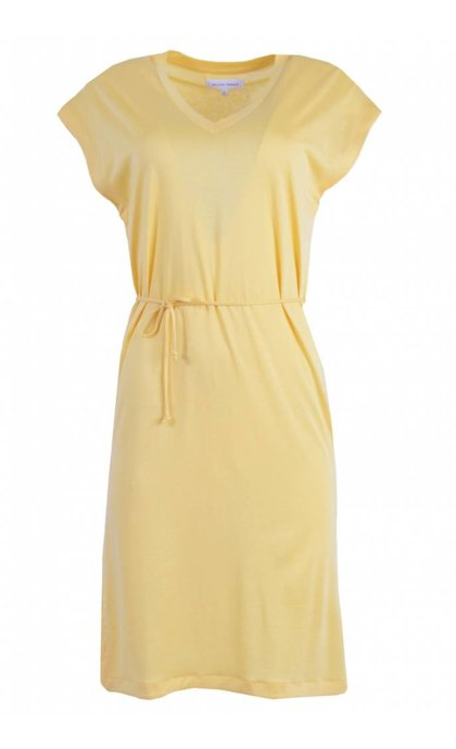 Second Female Airy Dress Golden Cream