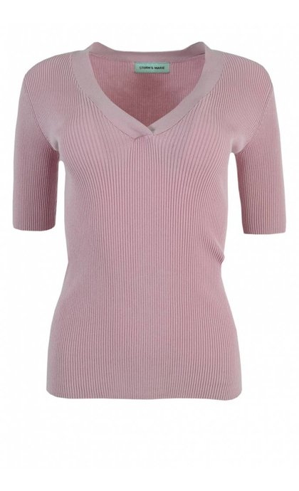 Storm & Marie Nap-V Top Light Mauve