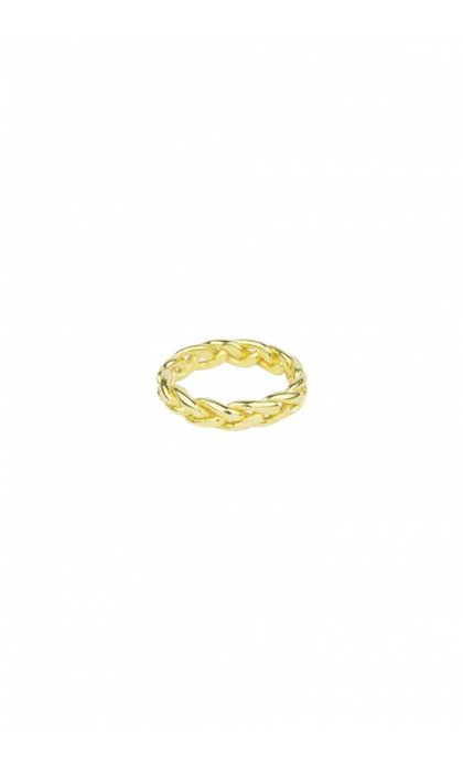 Wildthings Collectables Braided Ring Goldplated